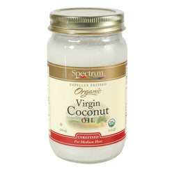Spectrum Naturals Organic Unrefined Coconut Oil - 14 Fl oz.