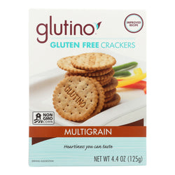 Glutino Multigrain Crackers - Case of 6 - 4.4 oz.