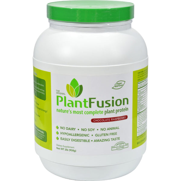 Plantfusion - Complete Protein - Chocolate Raspberry - 2 Lb.