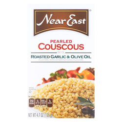 Near East Couscous - Garlic and Olive Oil - Case of 12 - 4.7 oz.