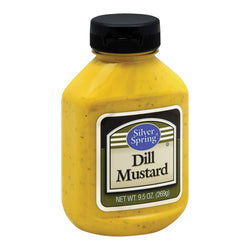 Silver Spring Mustard - Spring Squeeze - Dill - Case of 9 - 9.5 oz