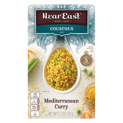 Near East Couscous Mix - Mediterranean Curry - Case of 12 - 5.7 oz.