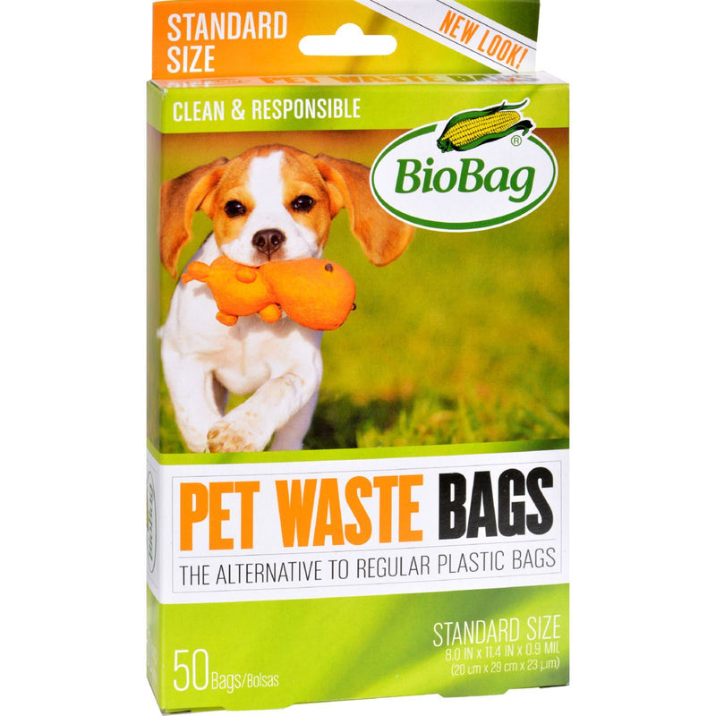 BioBag - Dog Waste Bags - 50 Count - Case of 12