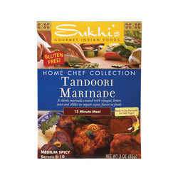Sukhi's Tandoori Marinade - Case of 6 - 3 oz.