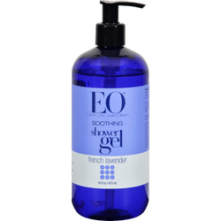 EO Products - Shower Gel Soothing French Lavender - 16 fl oz