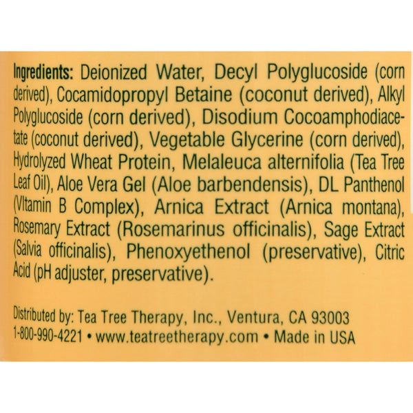 Tea Tree Therapy Shampoo - 16 fl oz