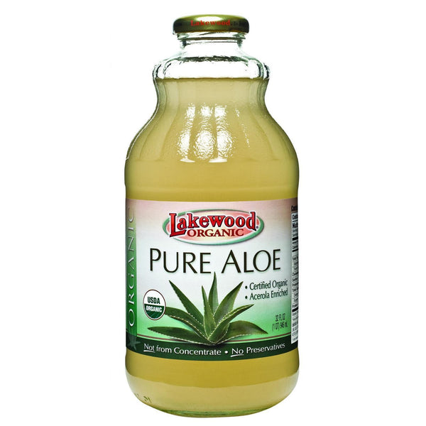 Lakewood Organic Aloe Juice - Fresh Pressed - Inner Fillet - 32 oz