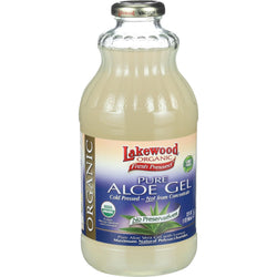 Lakewood Organic Aloe Vera Gel Juice - 32 oz