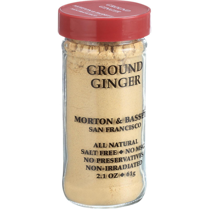 Morton and Bassett Ginger - Ground - 2.1 oz - Case of 3