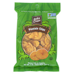 Inka Crops - Plantain Chips - Original - Case of 12 - 4 oz.