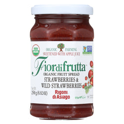 Fiordifrutta Organic Fruit Spread Strawberry - Fruit Spread Strawberry - Case of 6 - 8.82 oz.