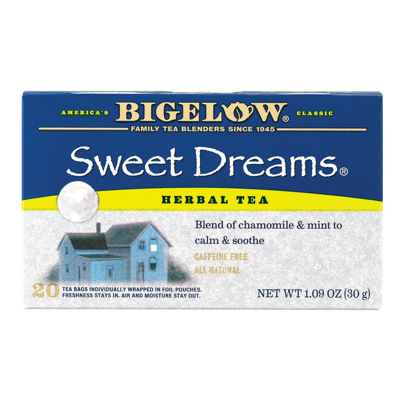 Bigelow Tea Sweet Dreams Herb Tea - Case of 6 - 20 BAG