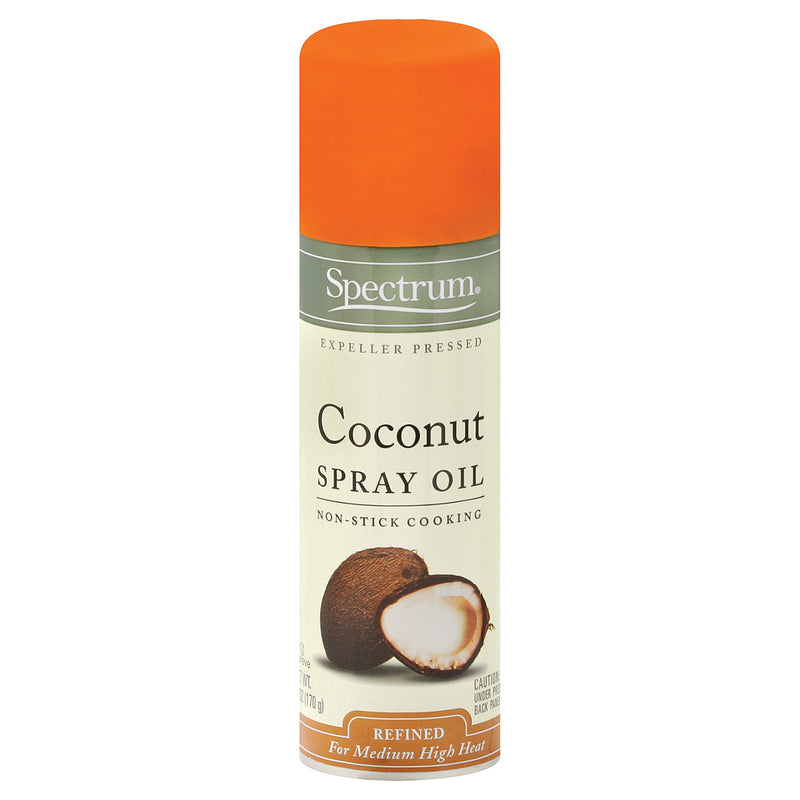 Spectrum Naturals Coconut Spray Oil - Case of 6 - 6 oz.