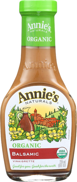 Annie's Naturals Vinaigrette Organic Balsamic - Case of 6 - 8 fl oz.