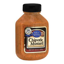 Silver Spring Squeeze - Mustard - Chipotle - Case of 9 - 9.5 oz