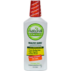 Natural Dentist Healthy Gums Antigingivitis Rinse Peppermint Twist - 16.9 fl oz