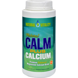 Natural Vitality Natural Calm Plus Calcium - 16 oz