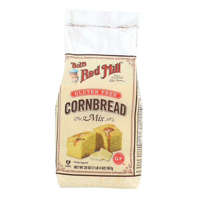 Bob's Red Mill - Gluten Free Cornbread Mix - 20 oz - Case of 4