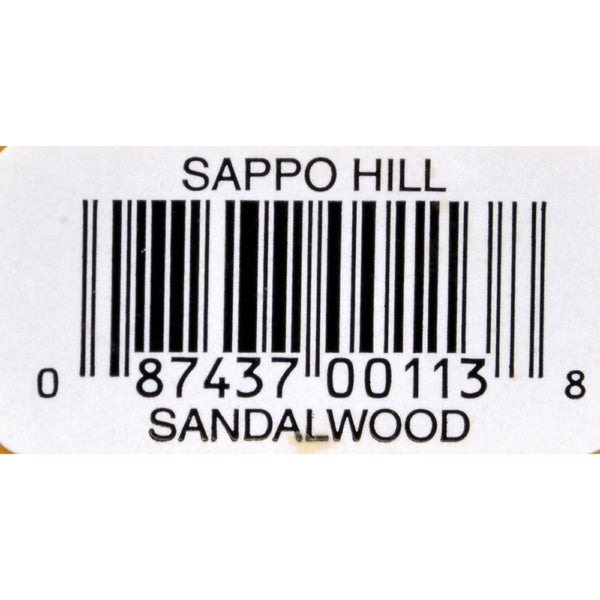Sappo Hill Sandalwood Glycerine Soap - 3.5 oz - Case of 12