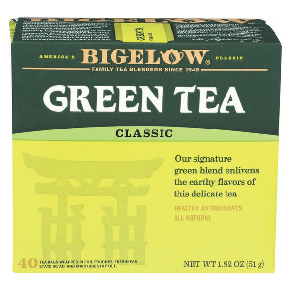 Bigelow Tea Tea - Green - Case of 6 - 40 BAG