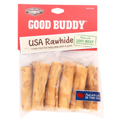 Castor and Pollux Good Buddy Rawhide Mini Rolls - Case of 12