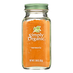 Simply Organic Ground Turmeric Root - Case of 6 - 2.38 oz.