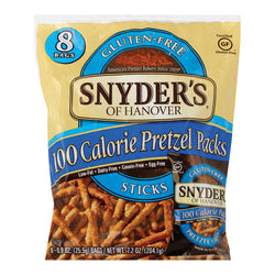 Snyder's of Hanover Pretzel Sticks - Gluten Free Hot Buffalo Wing - Case of 6 - 8 Count