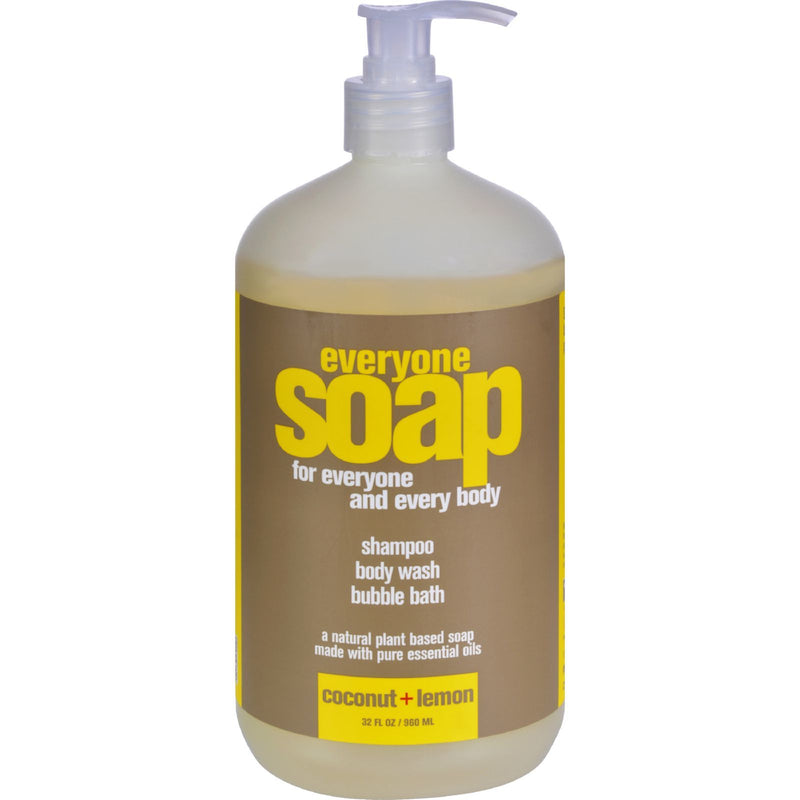 EO Products - EveryOne Liquid Soap Coconut and Lemon - 32 fl oz