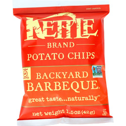 Kettle Brand Potato Chips - Backyard Barbeque - 1.5 oz - case of 24