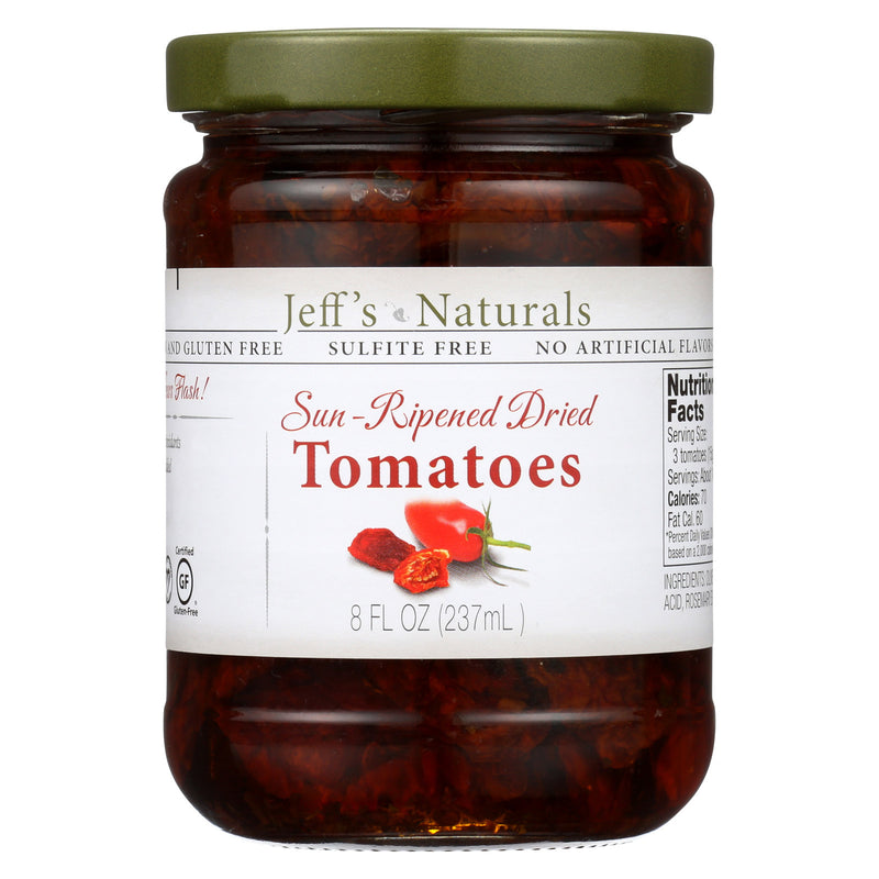 Jeff's Natural Jeff's Natural Tomato - Tomatoes - Case of 6 - 8 oz.