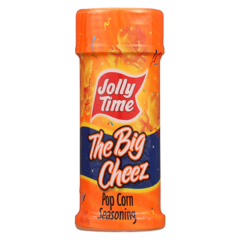 Jolly Time Popcrn Seasoning - Big Cheez - Case of 6 - 2.75 oz