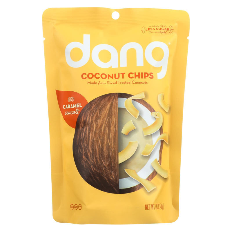 Dang - Toasted Coconut Chips - Caramel Sea Salt - Case of 12 - 1.43oz.