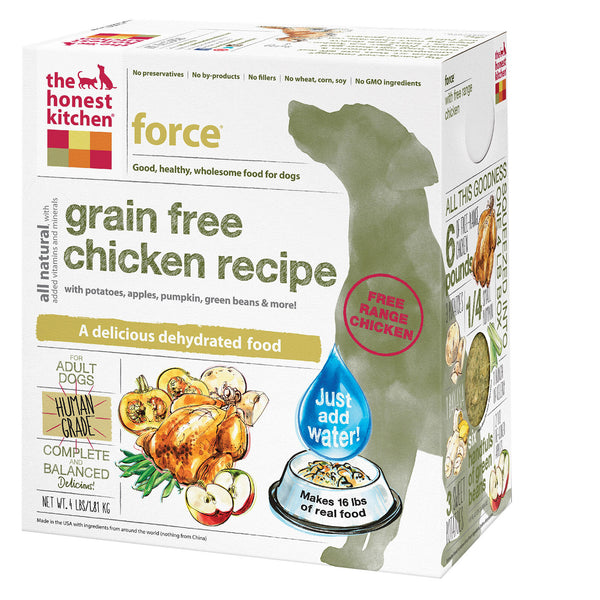 The Honest Kitchen Force - Grain Free Chicken Dog Food - 4 lb.
