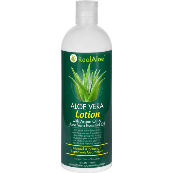 Real Aloe Lotion - Aloe Vera - 16 fl oz