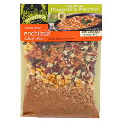 Frontier Soup Soup Mix - Enchilada - Ariz - Case of 8 - 5.75 oz