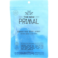 The New Primal Beef Jerky - Original - Gluten Free - 2 oz - case of 8