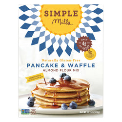 Simple Mills Almond Flour Pancake and Waffle Mix - Case of 6 - 10.7 oz.