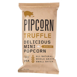 Pipcorn Mini Popcorn - Truffle - Case of 12 - 4 oz.