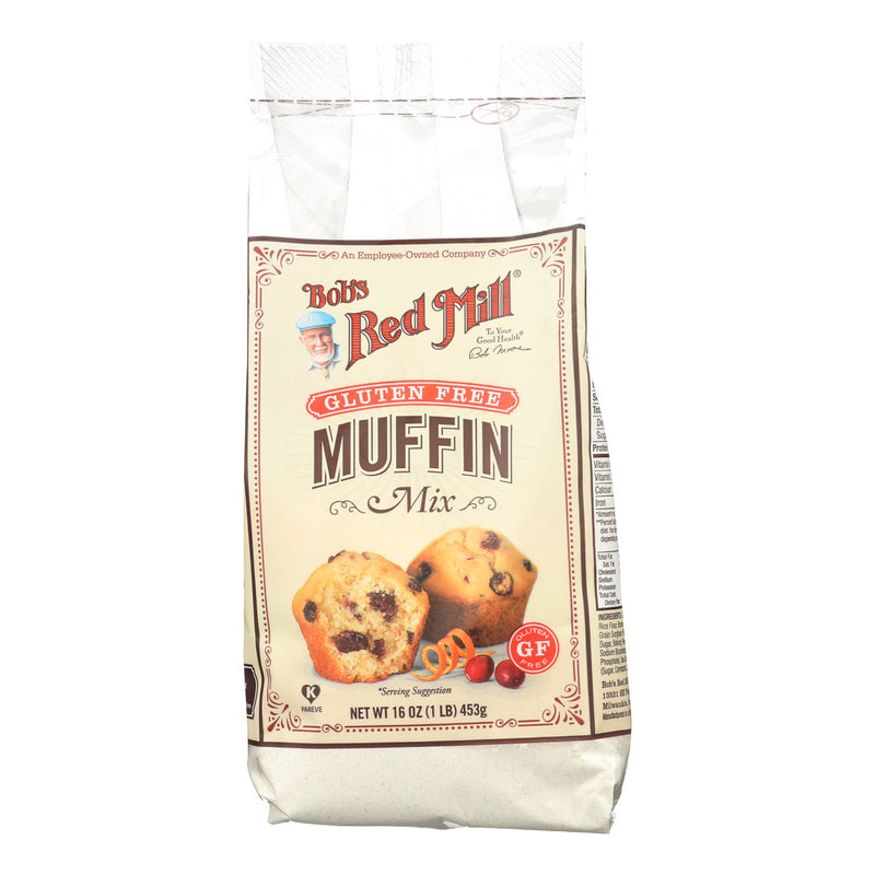 Bob's Red Mill - Gluten Free Muffin Mix - 16 oz - Case of 4