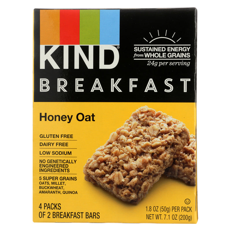 Kind Honey Oat - Case of 8 - 1.8 oz.