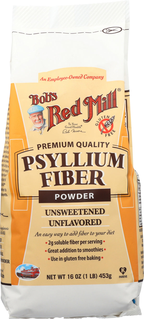 Bob's Red Mill - Powder Fiber - Psyllium - Case of 4 - 16 oz