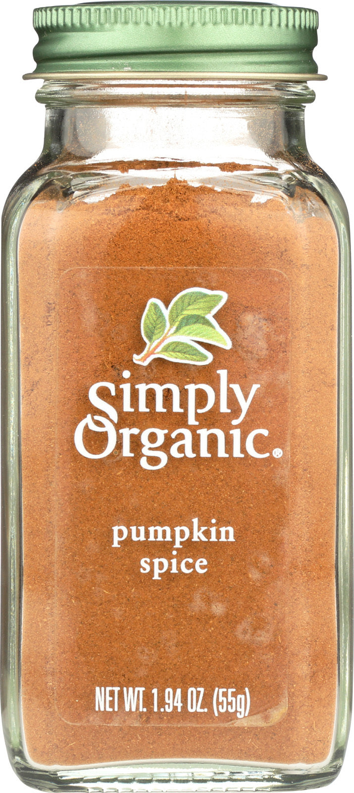 Simply Organic Pumpkin Spice - Case of 6 - 1.94 oz.