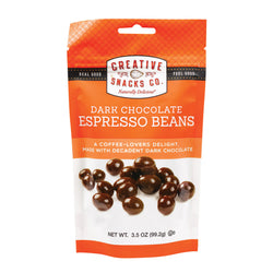Creative Snacks - Espresso Beans - Case of 6 - 3.5 oz
