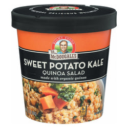 Dr. Mcdougall's Quinoa Salad - Sweet Potato Kale - Case of 6 - 2.1 oz