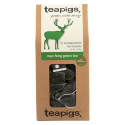 Teapigs Green Tea - Mao Feng - Case of 6 - 15 count