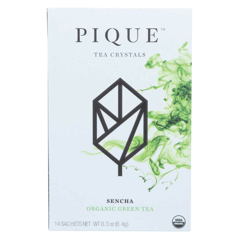 Pique Tea Crystl - Organic - Sencha - Case of 6 - 14 count