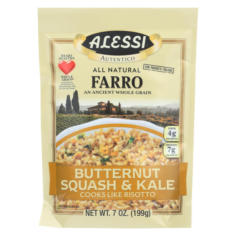 Alessi - Farro Butternut Squash and Kale - Case of 6 - 7 Oz