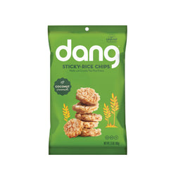 Dang - Sticky Rice Chips - Coconut - Case of 12 - 3.50 oz