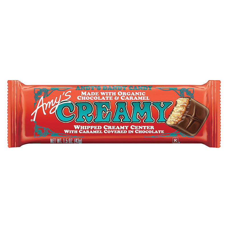 Amy's - Candy Bar - Organic - Creamy - Case of 12 - 1.3 oz