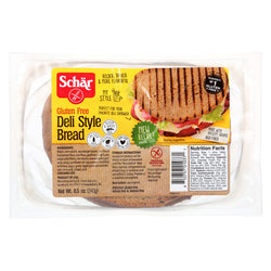 Schar Bread - Deli Style - Case of 5 - 8.5 oz